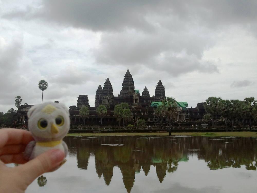 ... auf Spuren vergangener Kulturen (Angkor Wat, Kambodscha) ...