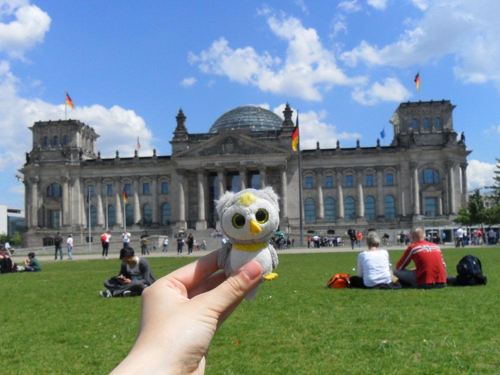 Merlin war bei vielen Reisen von Anfang an dabei... (Berlin, Deutschland)