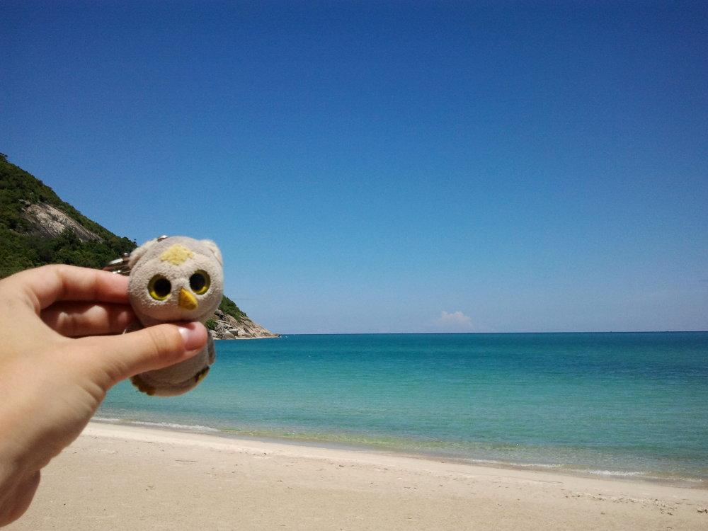 ... oder an einsamen Stränden (Bottle Beach, Thailand)...