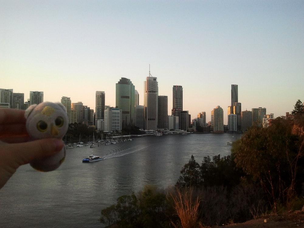 ...  am anderen Ende der Welt (Brisbane, Australien)...