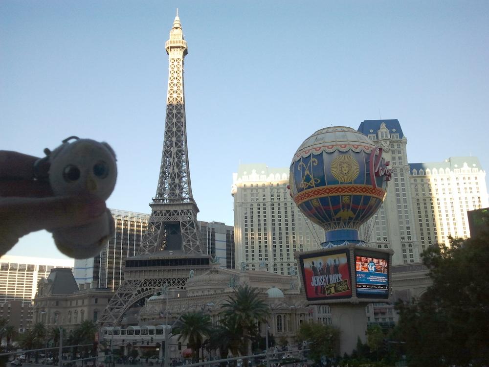 ... beim Zocken (Las Vegas, USA)...