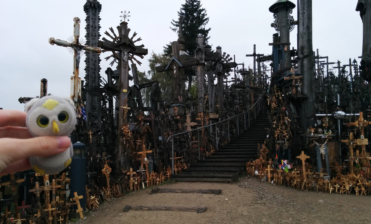 Šiauliai, Litauen (Berg der Kreuze)