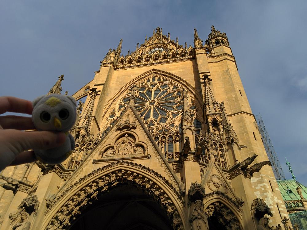 ... bei Kurztrips nach Frankreich (Metz, Frankreich)...