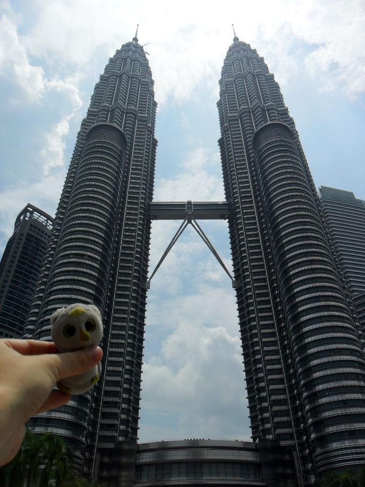 ... und bei neuen natürlich auch (Kuala Lumpur, Malaysia) ...