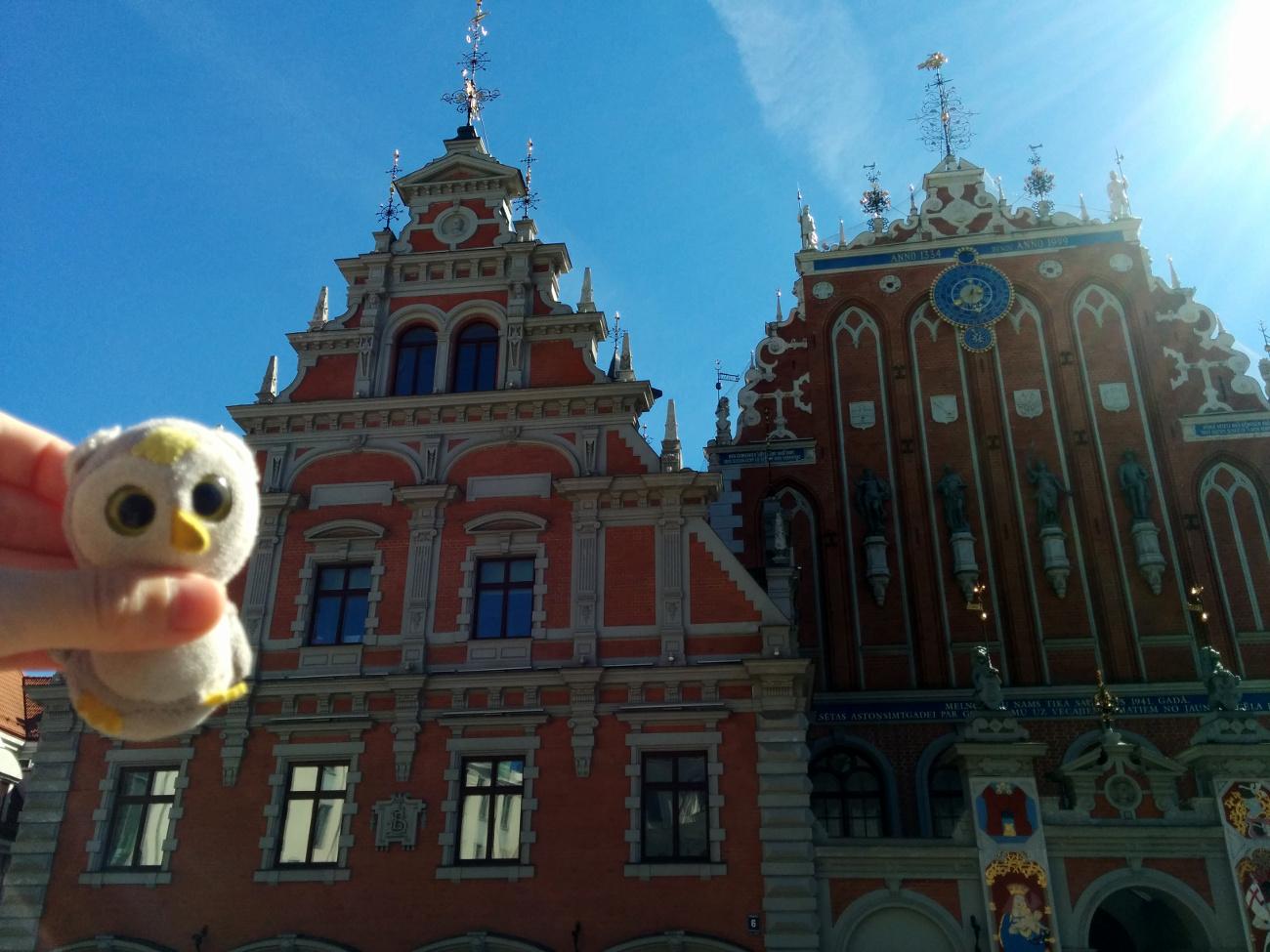 In Riga, der lettischen Hauptstadt