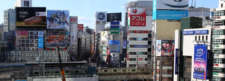 19 Monaten in Japan vergingen wie im Flug. Shibuya Bahnhof in Tokyo