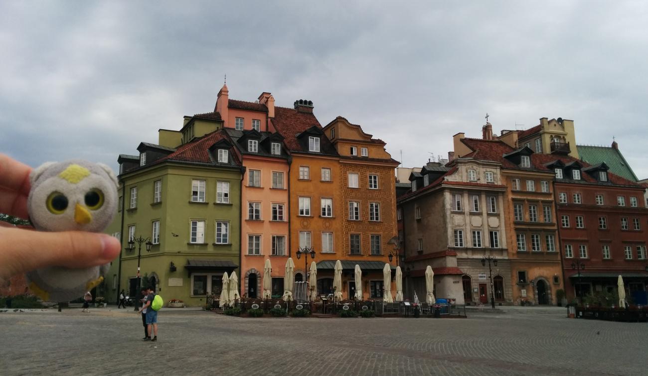 In Warschau, Polen