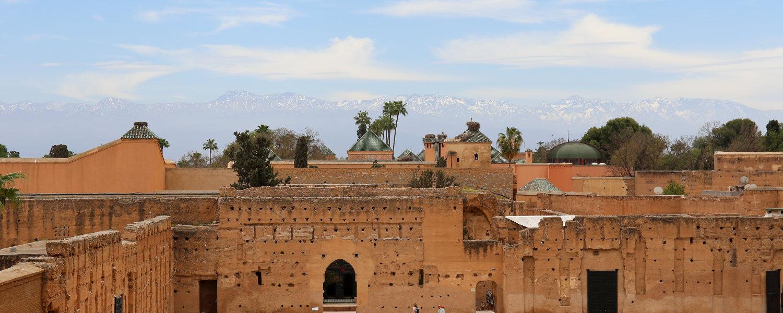 Aussicht von El Badi Palast
